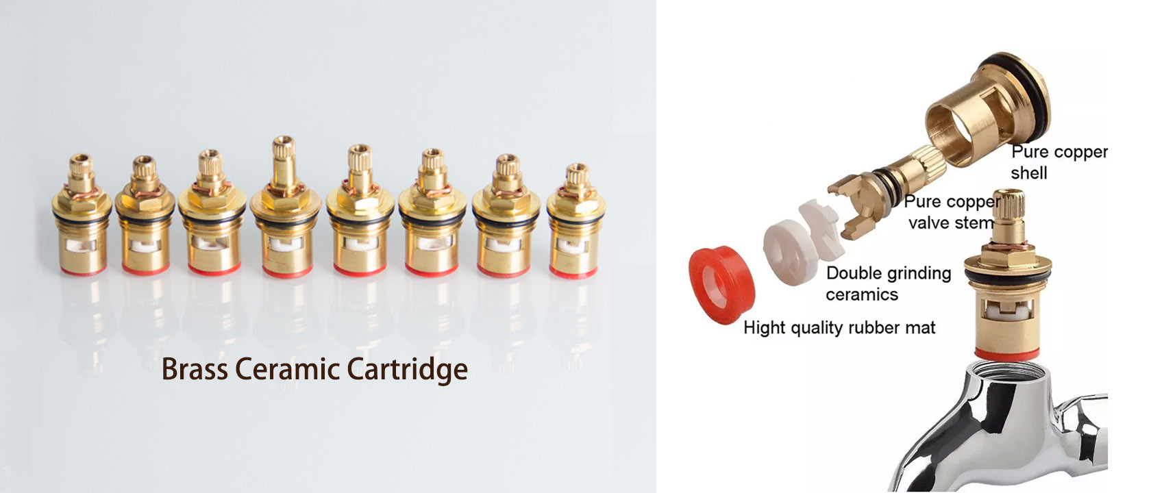 China best Brass Faucet Cartridge on sales