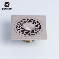 BENSINO Square 0.1m Bathroom Floor Drain Strainer