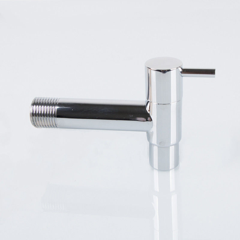 Toilet Chorme Plated 170g 0.8Mpa Brass Water Taps