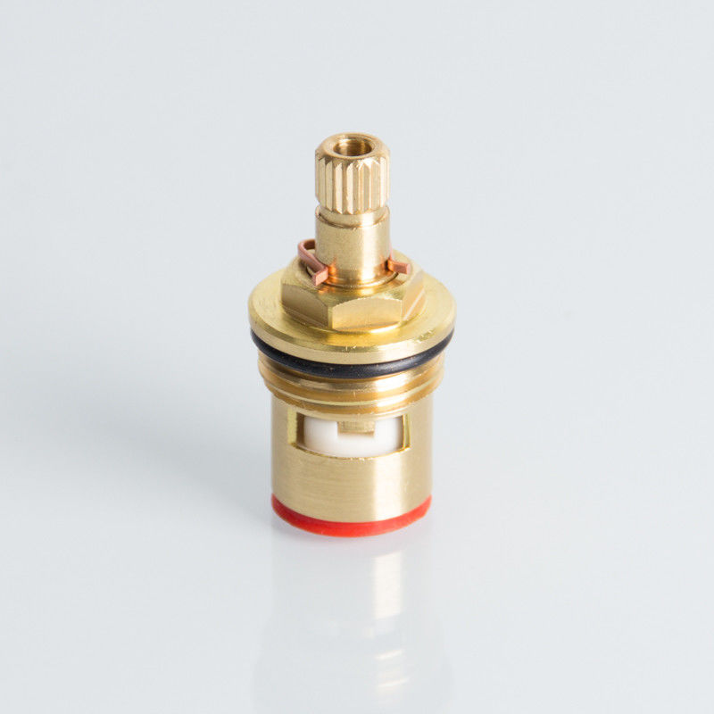 "Polished G1/2"" 90°C Brass Faucet Cartridge For Taps"